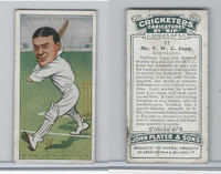 P72-83 Player, Cricketers Caricatures, 1926, #22 V.W.C. Jupp, Nothants