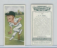 P72-83 Player, Cricketers Caricatures, 1926, #38 C.F. Root, Worcs
