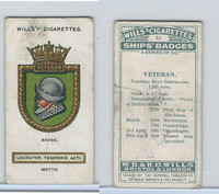 W62-180 Wills, Ship Badges, 1925, #32 Veteran