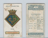 W62-180 Wills, Ship Badges, 1925, #50 Snapdragon
