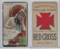 N264 Lorillard, Red Cross Long Cut/Sensation, Actresses, 1892, May Belle Raymond