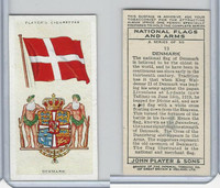P72-171 Player, National Flags & Arms, 1936, #13 Denmark