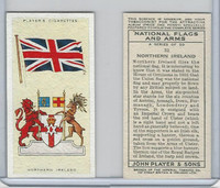 P72-171 Player, National Flags & Arms, 1936, #32 Northern Ireland