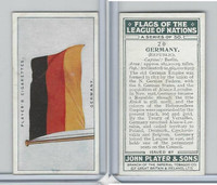 P72-97 Player, Flags League Nations, 1928, #20 Germany