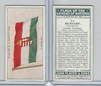 P72-97 Player, Flags League Nations, 1928, #24 Hungary