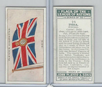 P72-97 Player, Flags League Nations, 1928, #25 India