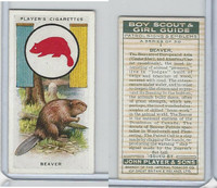 P72-68 Player, Boy Scout & Girl Guide, 1933, #1 Beaver
