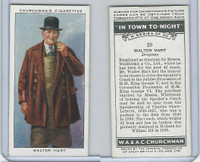 C82-58 Churchman, In Town Tonight, 1938, #20 Walter Hart, Drayman