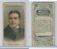 W62-90a Wills, Musical Celebrities, 1912, #29 Sir Arthur Sulivan