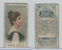 W62-90a Wills, Musical Celebrities, 1912, #41 Madme Melra