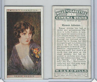W62-125a Wills, Cinema Stars, 1928, #1 Renee Adoree