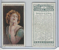 W62-125a Wills, Cinema Stars, 1928, #10 Marguerite de la Motte