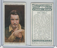 W62-125a Wills, Cinema Stars, 1928, #13 John Gilbert