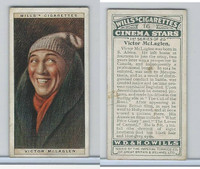 W62-125a Wills, Cinema Stars, 1928, #16 Victor McLaglen