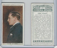 W62-125a Wills, Cinema Stars, 1928, #21 John Stuart