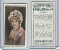 W62-125a Wills, Cinema Stars, 1928, #24 Alice Terry