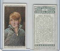 W62-125a Wills, Cinema Stars, 1928, #25 Claire Windsor