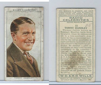 W62-197b Wills, Radio Celebrities 2nd, 1934, #33 Tommy Handley