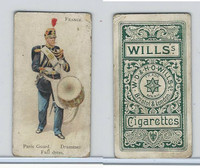 W62-46a Wills, Soldiers of World, 1895, France, Paris Guard