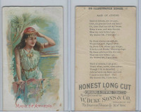 N116 Duke, Illustrated Songs, 1893, Maid Of Athens