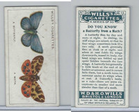 W62-127a Wills, Do You Know, 1922, #10 Butterfly from a Moth?