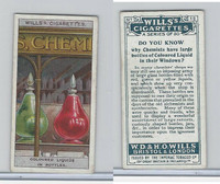 W62-127a Wills, Do You Know, 1922, #12 Chemists have large bottles