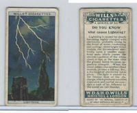 W62-127a Wills, Do You Know, 1922, #26 Causes Lightning?