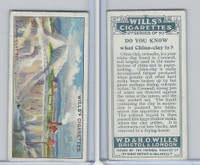 W62-127b Wills, Do You Know 2nd, 1924, #12 China-clay is?