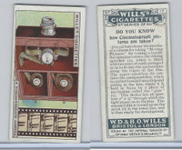 W62-127b Wills, Do You Know 2nd, 1924, #13 Cinematograph pictures are taken?