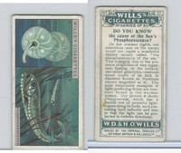 W62-127c Wills, Do You Know 3rd, 1926, #37 Sea Phosphoresence