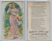 N116 Duke, Illustrated Songs, 1893, O Fair Dove