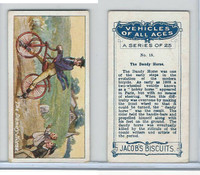 J0-0 Jacobs Biscuits, Vehicles All Ages, 1924, #15 Dandy Horse