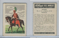 FC9-2 Kellogg's, General Interest - Uniforms, 1946, #6 Hussar
