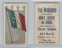 H627 Weddemann, National Flags, 1898, France