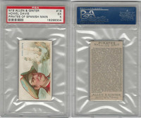 N19 Allen & Ginter, Pirates of the Spanish Main, #18 Howell Davis, PSA 5 EX