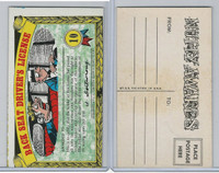1964 Topps, Nutty Awards, #10 Back Seat Driver's License