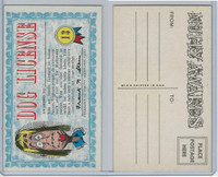 1964 Topps, Nutty Awards, #13 Dog License