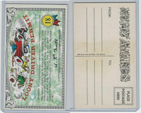1964 Topps, Nutty Awards, #18 Loony Driver Permit