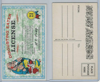 1964 Topps, Nutty Awards, #21 Disgusting Eater License