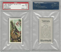 B0-0 Barratt, Tarzan, 1967, #34 Man Trap, PSA 8 NMMT