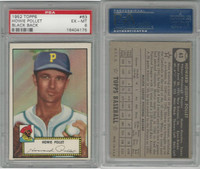 1952 Topps Baseball, #63 Howie Pollet, Pirates, PSA 6 EXMT