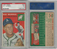 1954 Topps Baseball, #49 Ray Murray, Athletics, PSA 5 EX