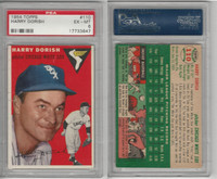1954 Topps Baseball, #110 Harry Dorish, White Sox, PSA 6 EXMT