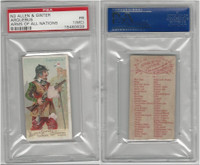 N3 Allen & Ginter, Arms of all Nations, 1887, Arquebus, PSA 1 MC