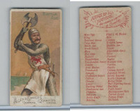 N3 Allen & Ginter, Arms of all Nations, 1887, Battle Axe