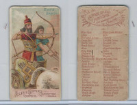 N3 Allen & Ginter, Arms of all Nations, 1887, Bow And Arrow