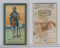 N303 Mayo, Costumes of Warriors & Soldiers, 1892, Edward The Black Prince