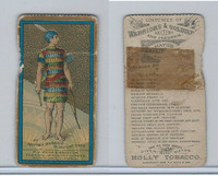 N303 Mayo, Costumes of Warriors & Soldiers, 1892, An Egyptian Warrior