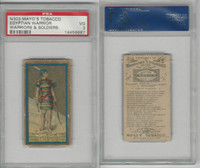 N303 Mayo, Costumes of Warriors & Soldiers, 1892, Egyptian Warrior, PSA 3 VG