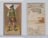 N303 Mayo, Costumes of Warriors & Soldiers, 1892, Clansman, 17th Century